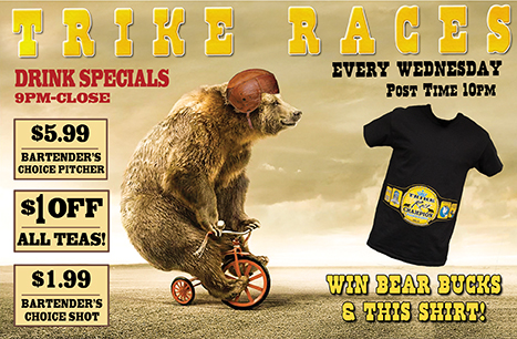 Trike Races Every Wednesday!