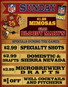 Sunday Football Specials Web