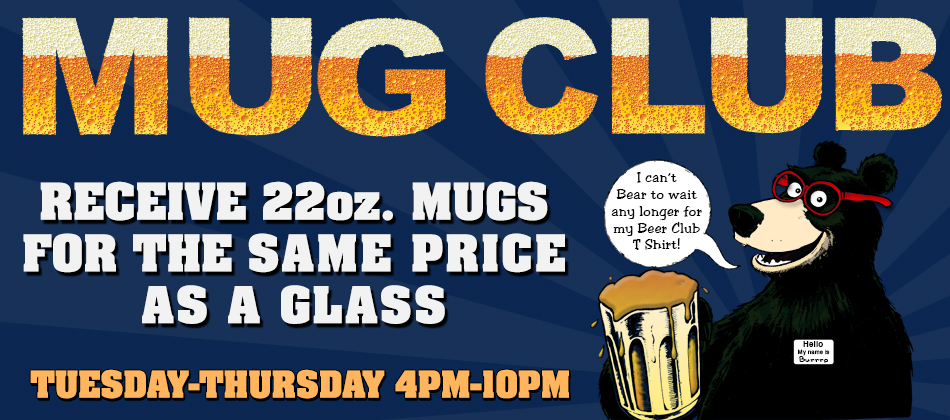 Mug Club Bear Website